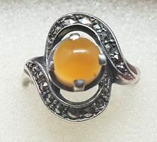 Ezüst gyűrű 58-es méret 4,62 gr