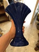 Üveg váza, 30 cm magas, hibátlan állapotban.ritka