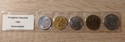 Forint forgalmi sor 1990 UNC