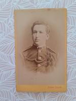 Antik katona fotó Robert Steidl műtermi fénykép
