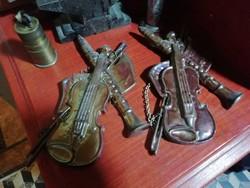 Eozinmázas vas antik hangszerek 23 cm