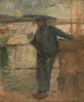 Glatter Gyula (1886-1927): Kikötői melós.