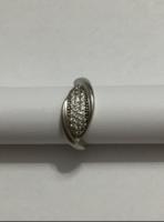 Elegáns ezüst gyűrű 925 finomságjellel