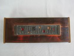 Tungsram retro craftsman metal box