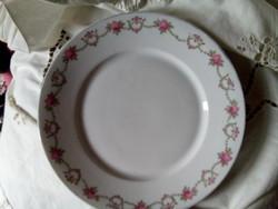 Cseh porcelán tányér
