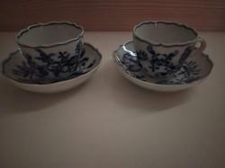 Eredeti antik meisseni csészepár