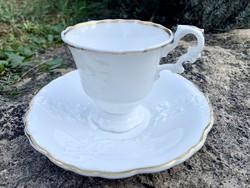 19. századi antik angol Copeland & Garrett bone china csésze és alj