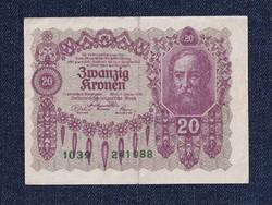 Ausztria 20 Korona 1922 (id10741)