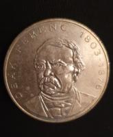 Deák Ferenc ezüst 200 forintos érme