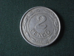 2 pengő 1943
