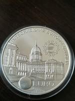 UNC Ezüst 2000 Forint 1997 Euro BU