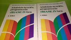 Tóth Tibor: Adatbázis-kezelés, programozás dBASE IV-ben 1-2. 1989.  800.-Ft