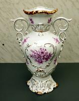 Barokk Hollóházi váza gyönyörű darab