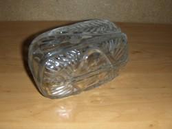 Kristály üveg cukortartó bonbonier (5/d)