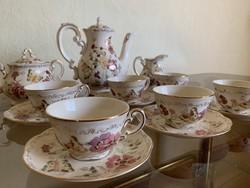 Zsolnay - Pillangós teáskészlet