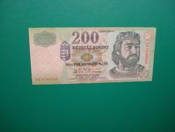 Ropogós 200 forint 2007 FA