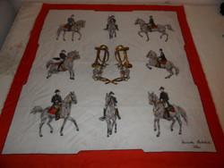 Női Striesnig kendő, sál ( Spanyol lovasiskola)