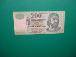 Ropogós 200 forint 2007 FC
