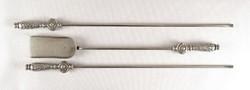 1B926 Díszes 3 darabos piszkavas és lapát kályha készlet