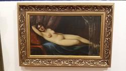AKT Festmény - Alkotó: Pammer János - Olaj - Vászon - Méret: 43 cm. + 70 cm. + Új Keret