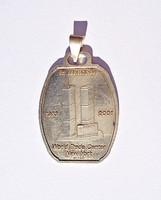 WTC 1973-2001 emlék medál