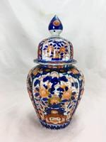 Nagyméretű japán imari porcelán urnaváza