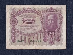Ausztria 20 Korona 1922 (id10742)