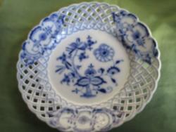 Nagyon különlegesen szép Meisseni tányér hibátlan állapotban,jelzett