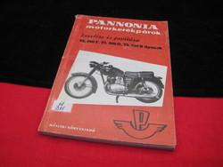 PANNÓNIA   gépkönyv  1960 , szép állapot