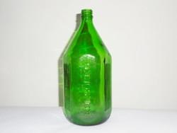 Gyógyszertári üveg palack KÜLSŐLEG felirattal - 1 liter - 1970-es évekből