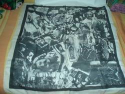 Vintage designer selyemkendő