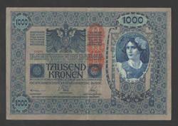 1000 korona 1902.  DÖ!!  VF!!
