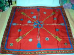 Vintage selyem kendő
