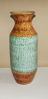 Készletsöprés!!! Iparművészeti váza 33 cm ,csodaszép