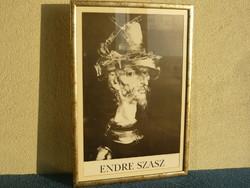 Szász Endre nyomat keretezve eladó. A kép mérete:37 X 52,5 cm.