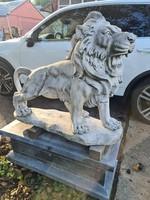 Márvány oroszlánpár, oroszlán
