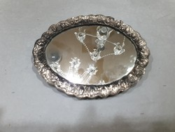 Régi ezüst tükör