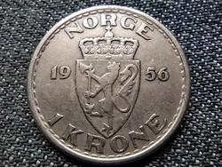 Norvégia VII. Haakon (1905-1957) 1 Korona 1956 (id37654)