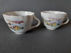 Aquincum kávés csészék, BUDAPEST