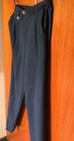 Sötétkék Bogner márkás nagyon elegáns  rendkívüli minőségű US 10 Long  nadrág!