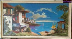 Tengerparti mediterrán paradicsom, Szicília jellegzetes épületeivel