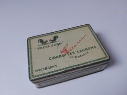 Antik Ed Laurens Prinz Izzo cigarettás fém doboz