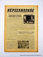 1980 május 17  /  NÉPSZABADSÁG  /  Régi ÚJSÁGOK KÉPREGÉNYEK MAGAZINOK Ssz.:  14732