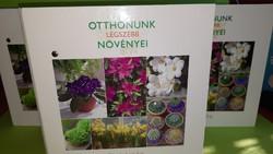 Otthonunk legszebb növényei.Három mappa együtt.  4500.-Ft