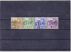 Holland Kelet-India forgalmi bélyegek 1934