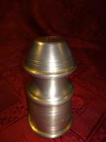 Antik, cink borsszóró, magassága 7,5 cm.