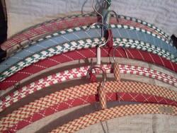 Vállfa textil bevonattal/ 10 db