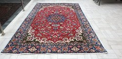 Isfahan hand-knotted wool Persian rug 180x295 free shipping 37p11