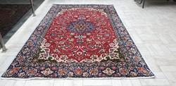 Isfahan kézi csomózású gyapjú perzsa szőnyeg 180x295 ingyenposta 37P11