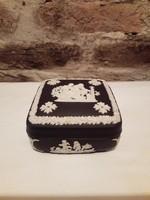 Wedgwood fekete ékszeres doboz